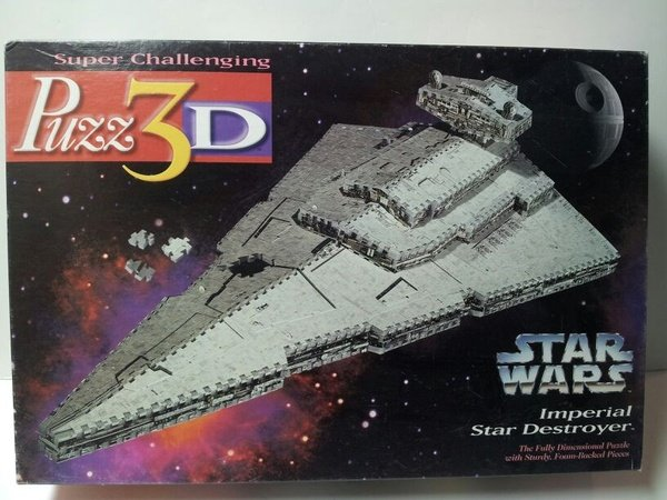 PUZZ 3D STAR WARS Imperial Star Destroyer PUZZLE 823 pieces