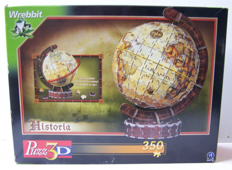Puzz 3D Historia Ancient World Globe 350 pieces Wrebbit MB 2002