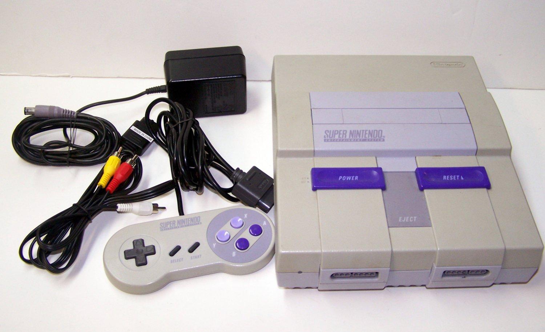 Super Nintendo Game console System SNES