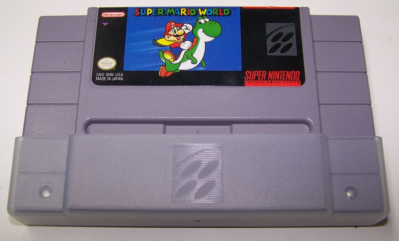 Super Mario World Super Nintendo Game