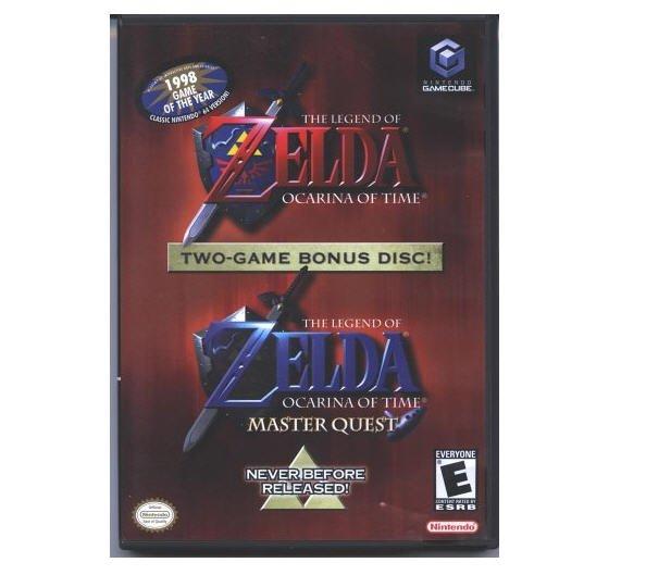 The Legend of Zelda: Ocarina of Time (w/ Master Quest) Nintendo GameCube
