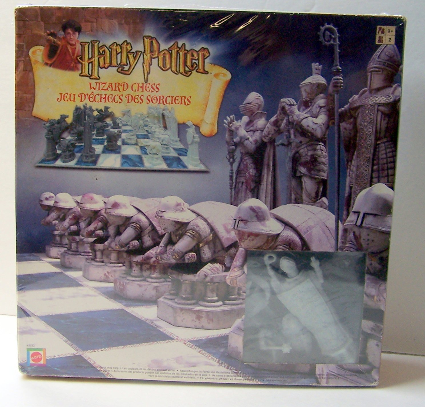 Harry Potter Wizard Chess by Mattel