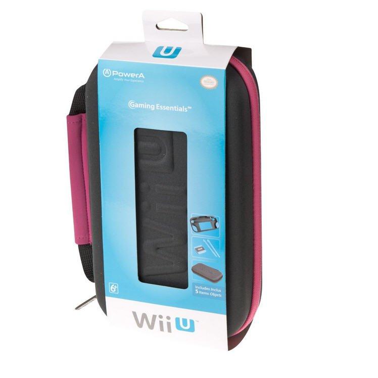 Official Gamer Essentials Kit for Wii U - Pink [Nintendo Wii] �