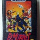 Ex-Mutants  Sega Genesis Game COMPLETE