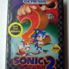 Sonic the Hedgehog 2 Sega Genesis Game COMPLETE