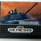 M-1 Abrams Battle Tank Sega Genesis Game