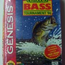 TNN Outdoors Bass Tournament 96 Sega Genesis Game
