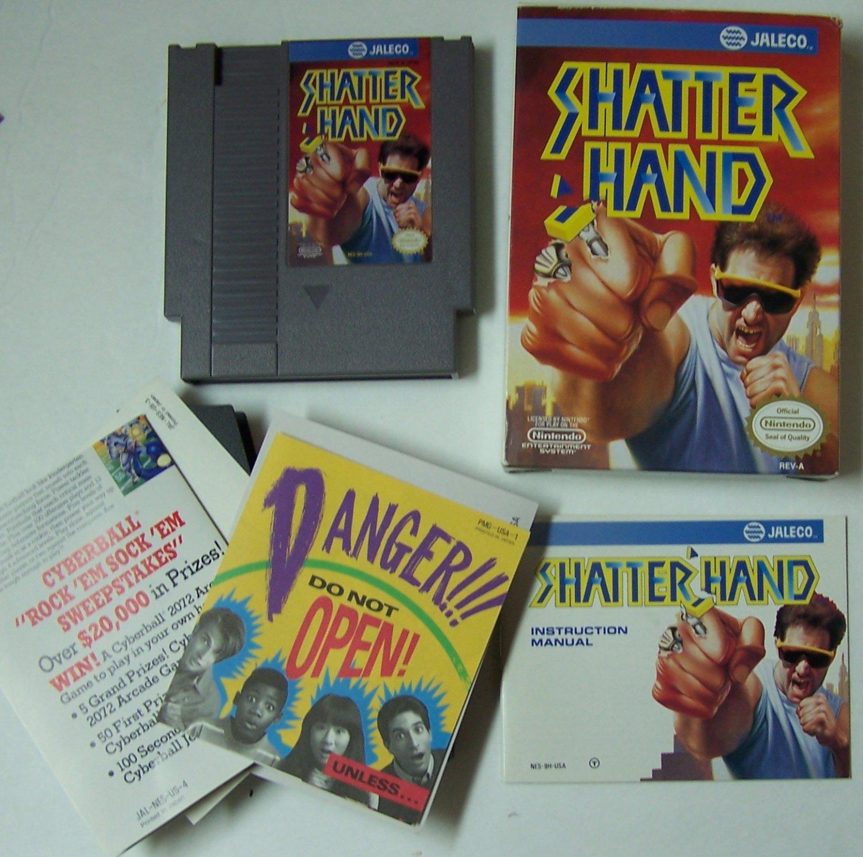 Shatterhand Original 8-bit Nintendo NES Game Cartridge