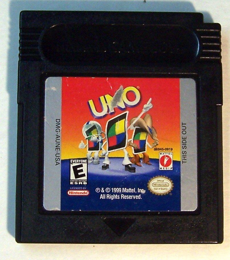 Uno by Nintendo Gameboy  Nintendo Game boy