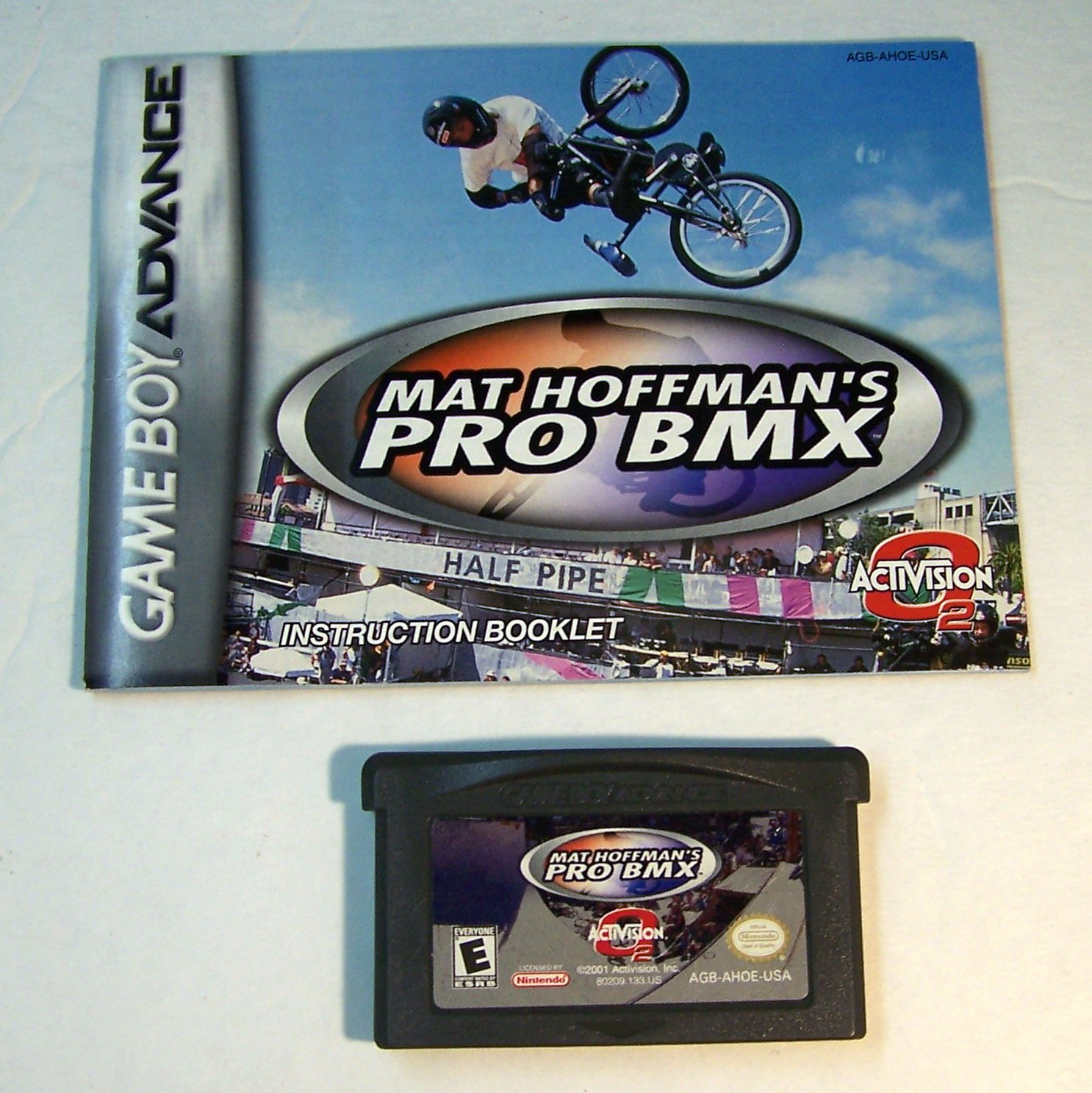 Mat Hoffmans Pro BMX Nintendo Game boy Advance