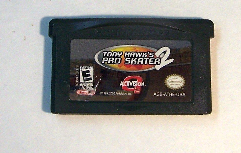 Tony Hawk's Pro Skater 2 Nintendo Game boy Advance GBA