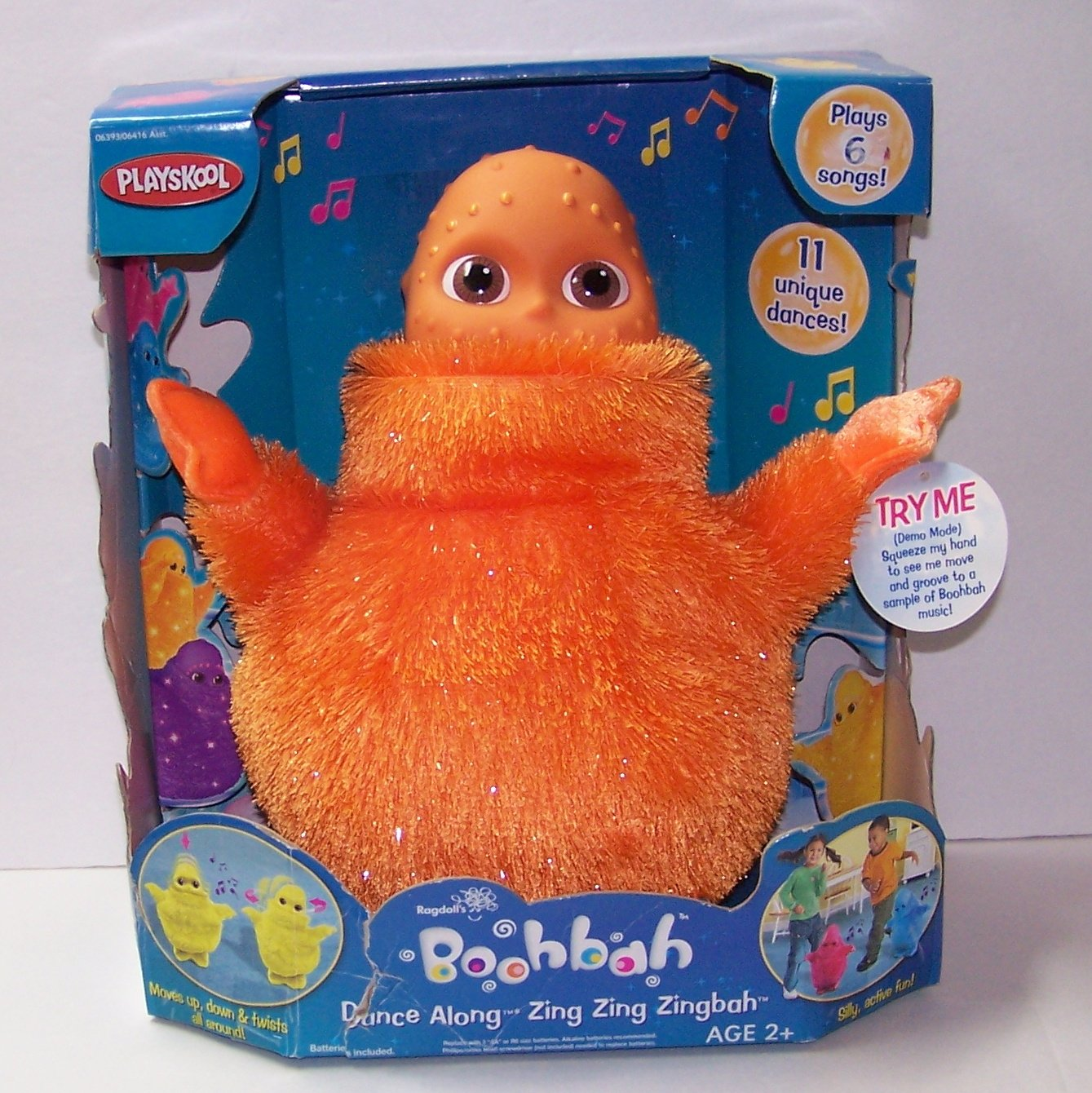 Boohbah Dancing Zing Zingbah (Orange)