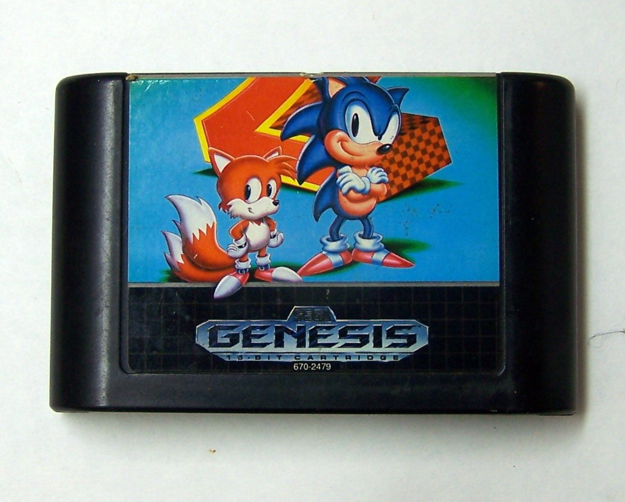 Sonic the Hedgehog 2 Sega Genesis Game