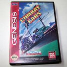 COMBAT CARS Sega Genesis Game Complete