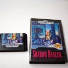 Shadow Dancer the Secret of Shinobi Sega Genesis Game