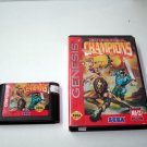 Eternal Champions Sega Genesis Game