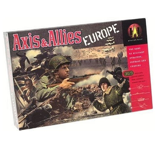 Axis & Allies Europe Avalon Hill Game