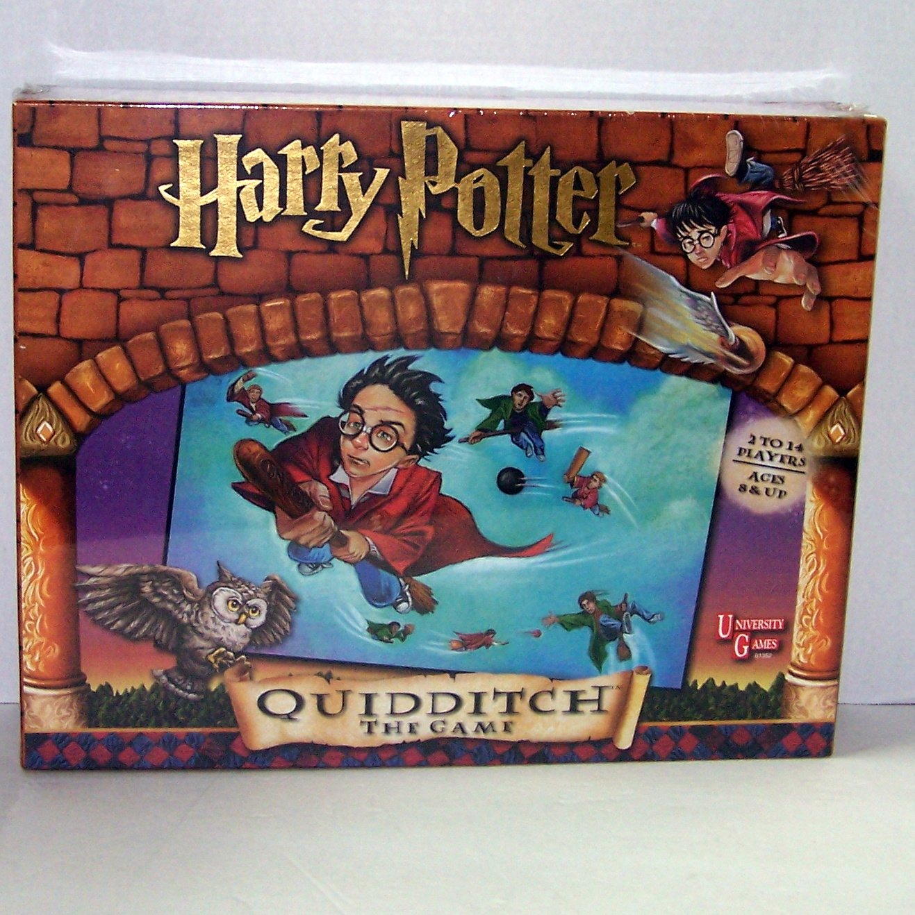 Harry Potter and the Sorcerer's Stone Quidditch The Game