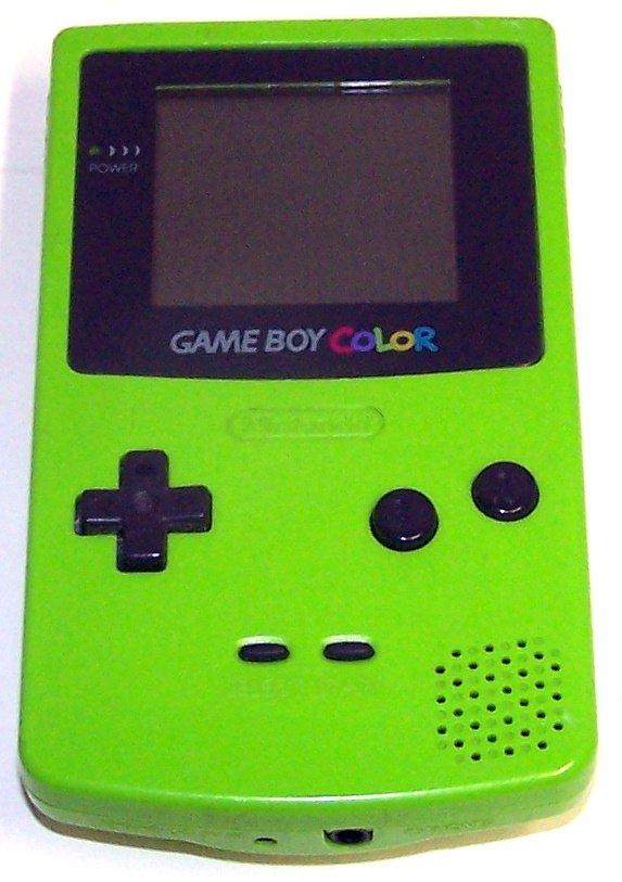 Nintendo Game Boy Color - Handheld game system - Kiwi Green
