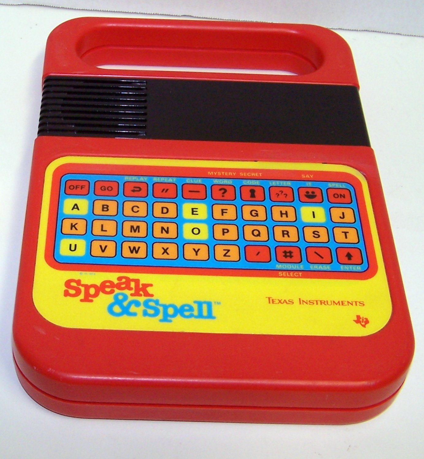 Vintage 1978 Electronic SPEAK AND SPELL Texas Instruments