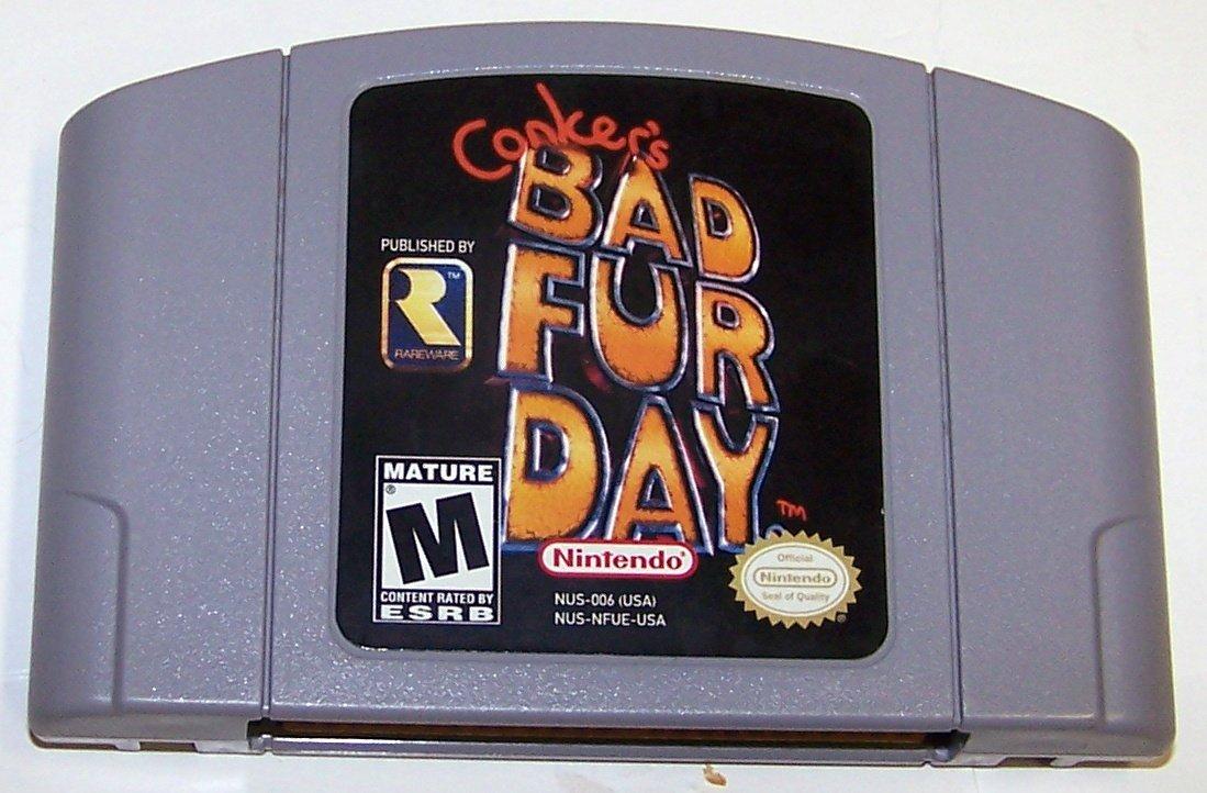 Conker's Bad Fur Day - N64 Nintendo 64 Game