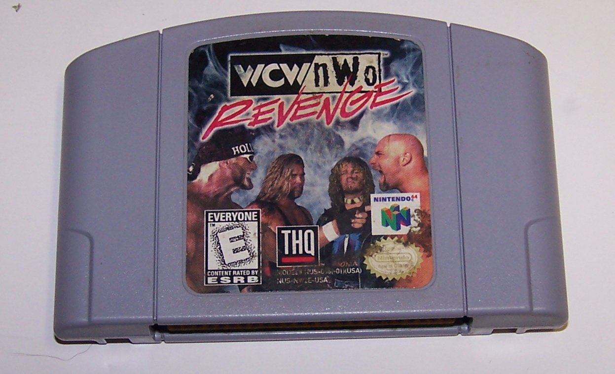 WCW/NWO Revenge N64 Nintendo 64 Nintendo 64 Game Cartridge