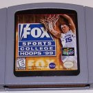 Fox Sports College Hoops 99 - N64 Nintendo 64 Game