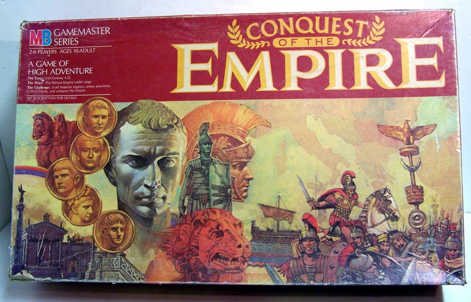 Conquest of the Empire MB Gamemaster Series 1984