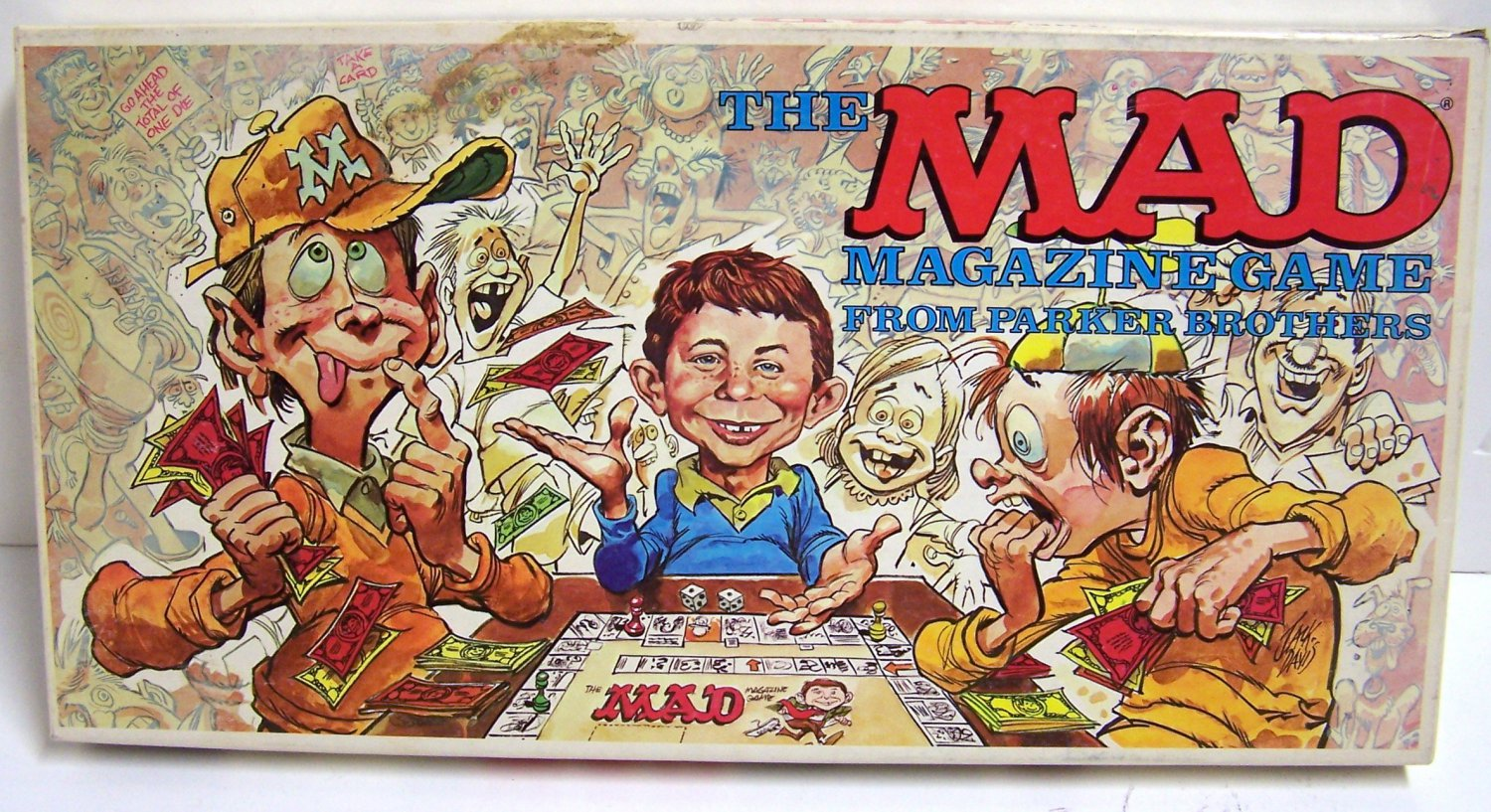 The MAD Magazine Game from Parker Brothers No. 124 (1979)