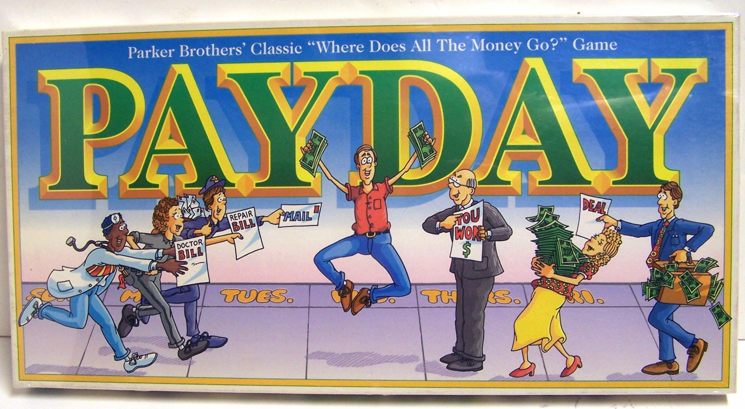 Payday 1994 Edition Board game
