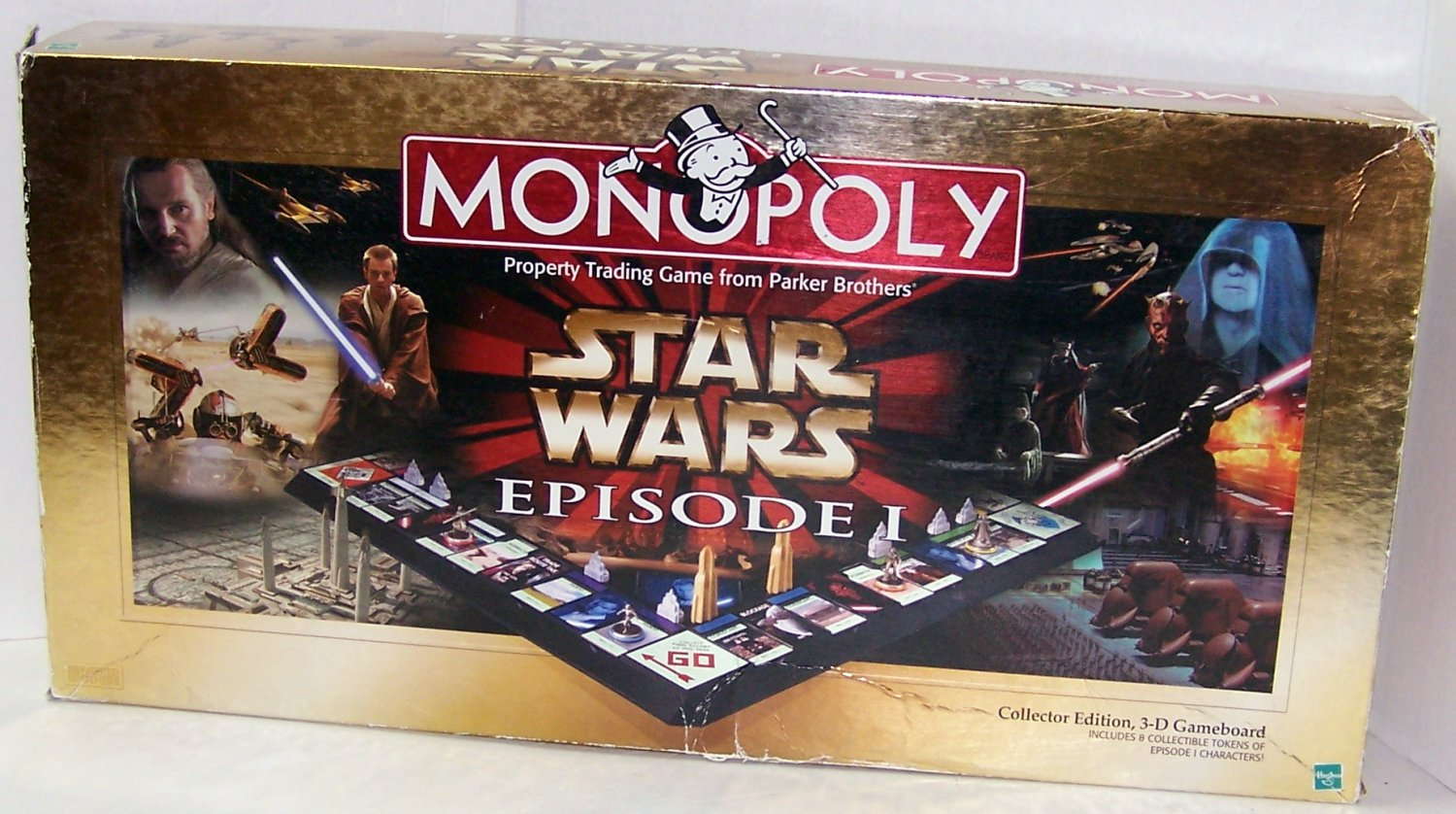 Monopoly Star Wars Episode I Board Game Made by Hasbro  1999 Edition