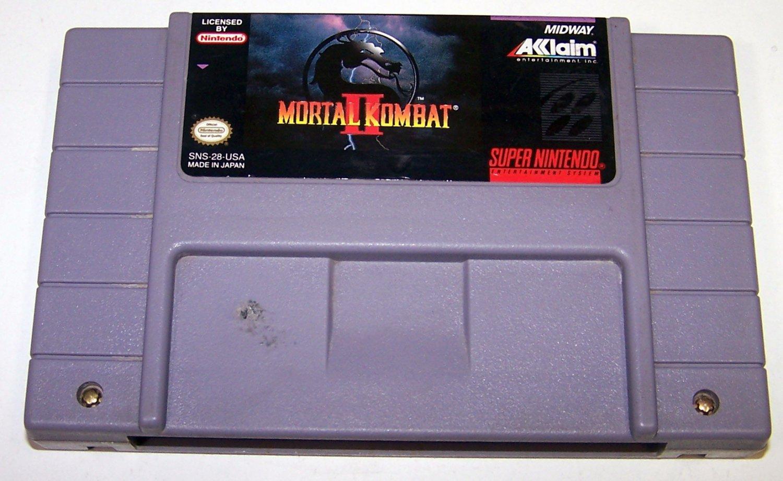 MORTAL KOMBAT II Super Nintendo Game