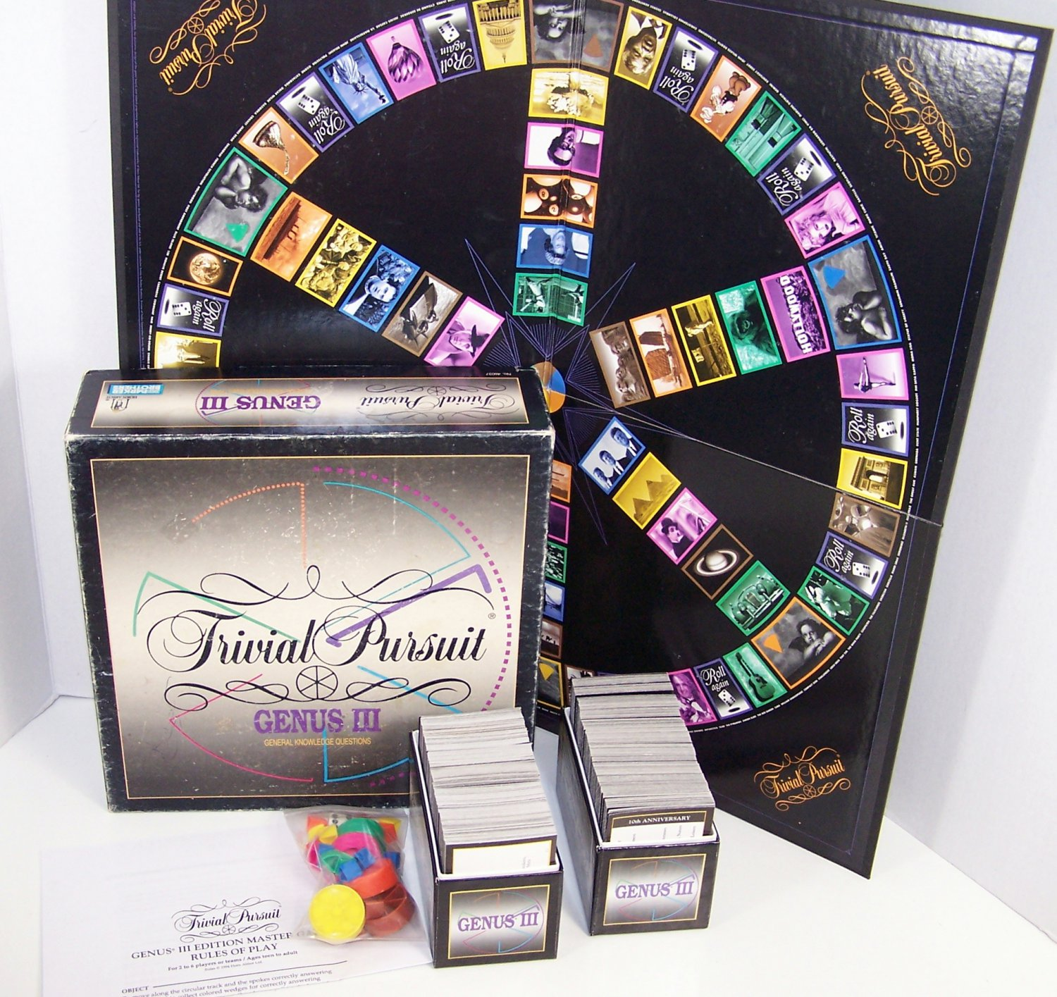 Trivial Pursuit (Genus III Master Game) by Parker Brothers