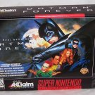Batman Forever Game Cartridge ~ Super Nintendo Game