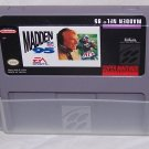 Madden NFL '95 Super Nintendo Game