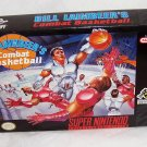 Bill Laimbeer's combat basketball Super Nintendo Game
