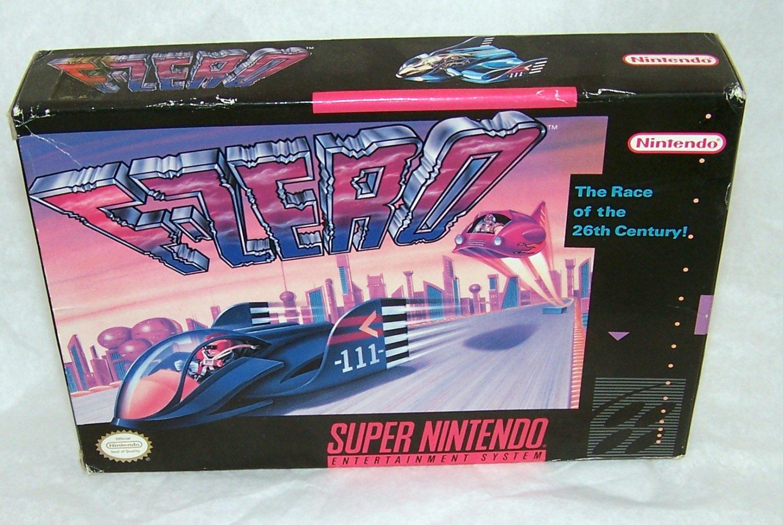 F-Zero Super Nintendo Game