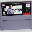 Madden NFL 97 Super Nintendo Game