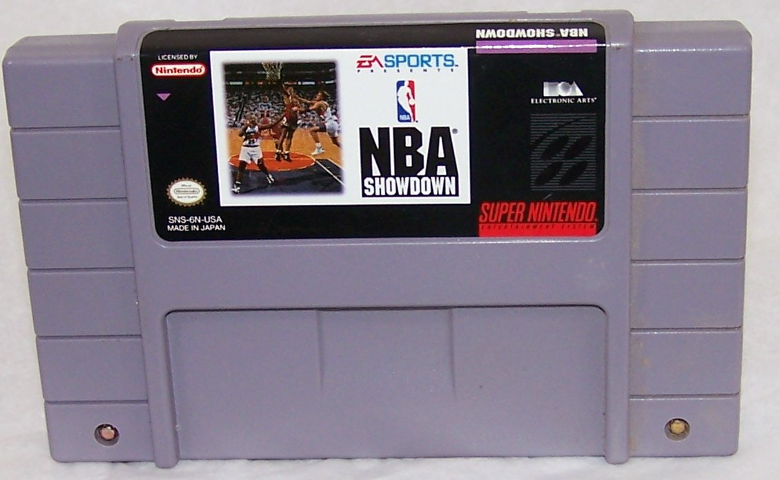 NBA Showdown  Super Nintendo Game