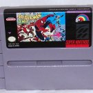 Spider-man X-men Arcade's Revenge Super Nintendo Game Cartridge