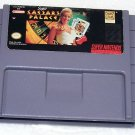 Super Caesars Palace Super Nintendo Game Cartridge
