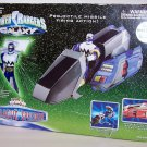 """Power Rangers Lost Galaxy Blue Galactic Speeder Vehicle with 5"""" Action Figure"""