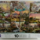 Thomas Kinkade 10 Jigsaw Puzzles Collectors Edition 3801-9 NEW SEALED Series 9