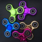 Metallic Fidget Spinner Hand Spinners Stress reducer Chrome metal colors