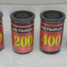 Vintage Seattle FilmWorks 35mm Professional Color Film Expired 100 200 400 plus