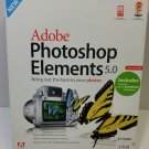 Adobe Photoshop Elements 5.0 Software & User Guide (Windows XP)