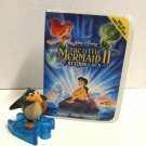 McDonald's 2000 Disney VHS Video Showcase Little Mermaid 2 penguin