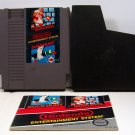 Super Mario Bros / Duck Hunt Original 8-bit Nintendo NES Game Cartridge with instructions