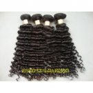 Brazilian remy Hair Weft Curly hair extensions Top