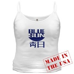 Blue Sun Women's Camisole Tank Top Made in USA